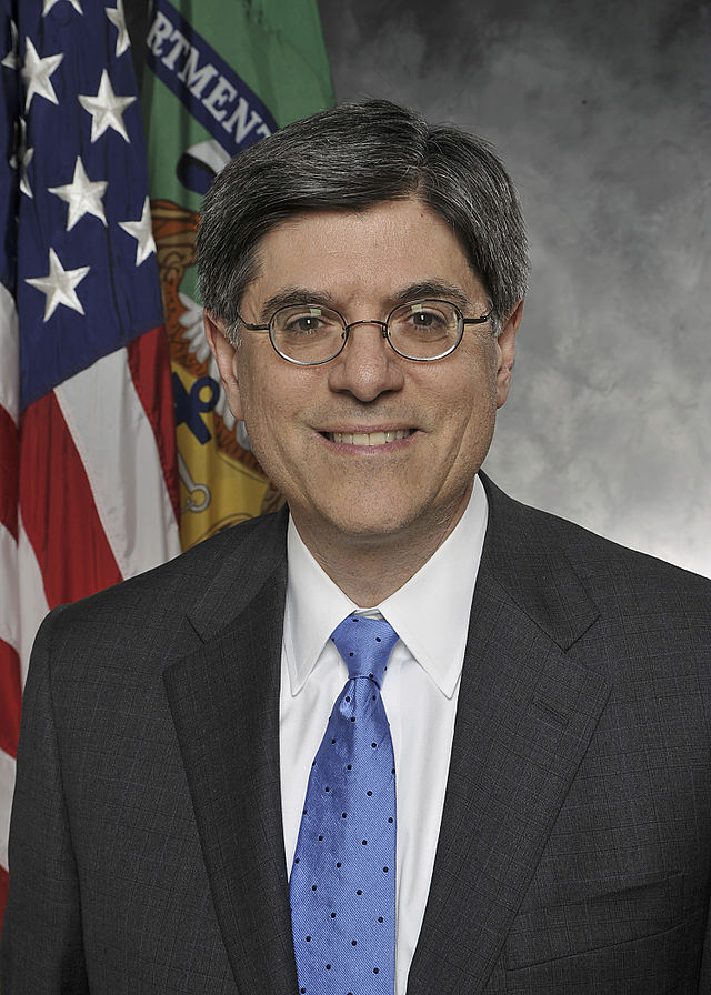Treasury Secretary Jack Lew. Credit: Department of the Treasury.