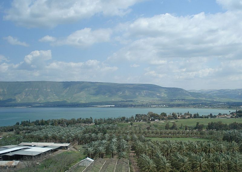 The Jordan Valley overlooking Lake Tiberias. Credit: PikiWiki - Israel free image collection project.