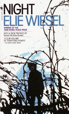 "Click photo to download. Caption: Elie Wiesel's ""Night,"" cover pictured, made the JNS.org recommended summer reading list. Credit: Kevinalewis via Wikimedia Commons."