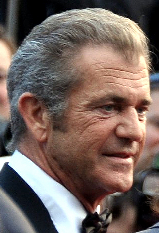 Mel Gibson. Credit: Wikimedia Commons.