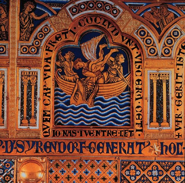 An Austrian depiction of the story of Jonah and the whale. Credit: Goodness Shamrock via Wikimedia Commons.