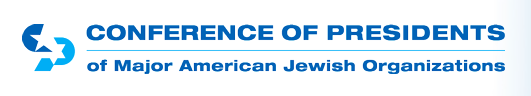 The Conference of Presidents logo. Credit: Conference of Presidents.