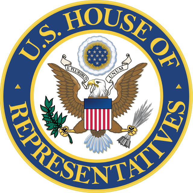 The House of Representatives seal. Credit: U.S. Congress.