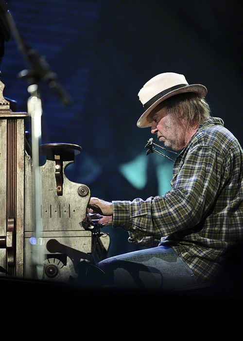 Neil Young. Credit: Larry Philpot.