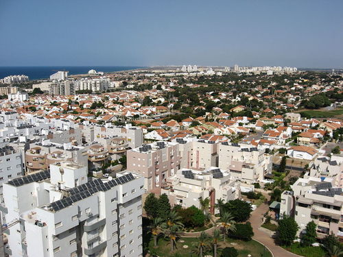 A view of Ashkelon. Credit: TaleleOrot via Wikimedia Commons.