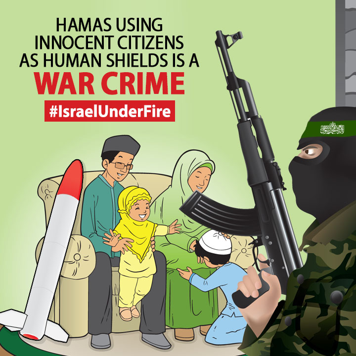 "Click photo to download. Caption: One of the images posted by the ""Israel Under Fire"" student initiative of the Interdisciplinary Center Herzliya (IDC) college and graduate school. Credit: Israel Under Fire."