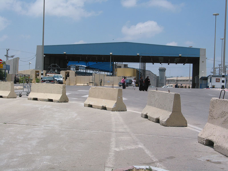 A 37-year-old Israeli man was killed by mortar fire near the Erez border crossing (pictured). Credit: Wikimedia Commons.