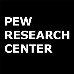 The Pew Research Center logo. Credit: Pew Research Center.