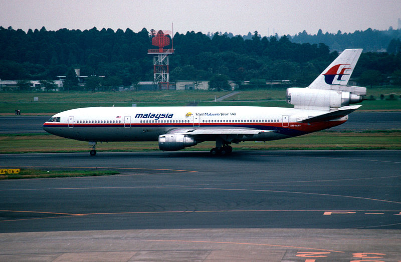 A Malaysia Airlines plane. Credit: Wikimedia Commons.