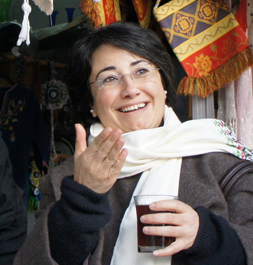 Israeli-Arab MK Haneen Zoabi. Credit: Wikimedia Commons.