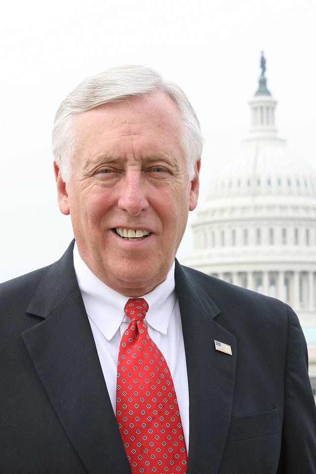 "House Minority Whip Steny Hoyer (pictured) told a pro-Israel gathering on Monday, ""If there is to be a political solution, it is imperative that Hamas is disarmed."" Credit: United States Congress."