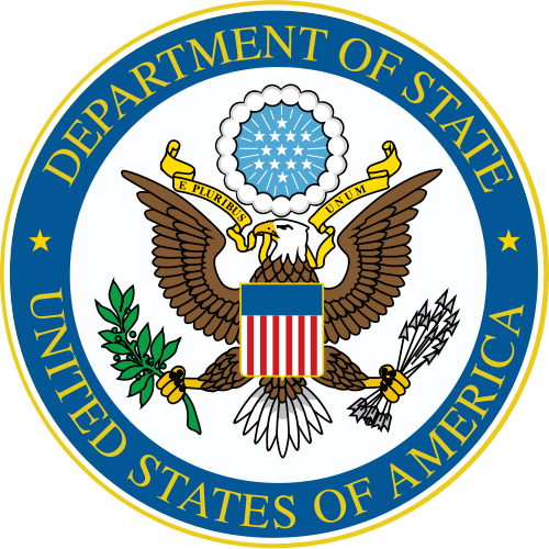 The State Department logo. Credit: State Department.
