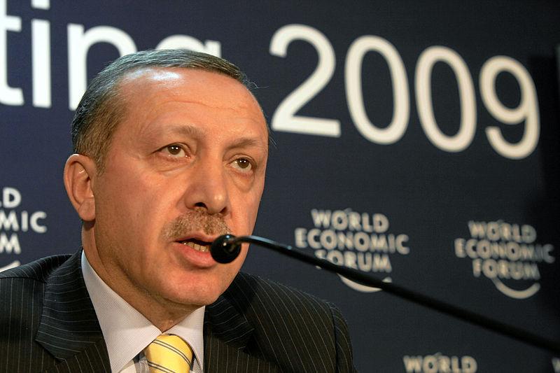 Turkish Prime Minister Recep Tayyip Erdogan. Credit: World Economic Forum.