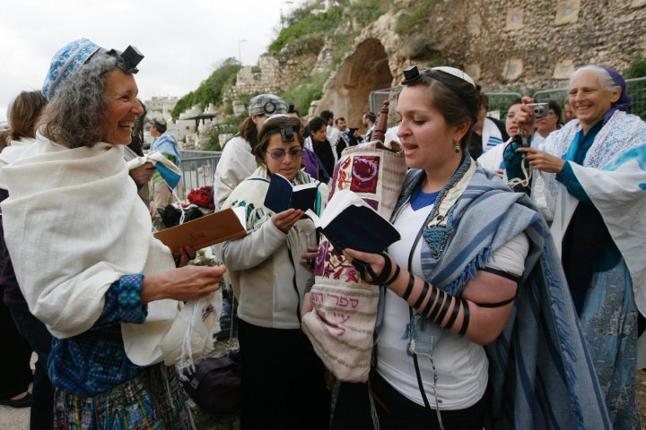 Click photo to download. Caption: A prayer service of Women of the Wall, a group which proves that Israel has made positive strides toward gender equality, according to Eliana Rudee. Credit: Women of the Wall.