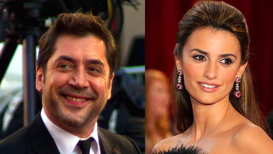 Click photo to download. Caption: Javier Bardem and Penelope Cruz. Credit: Joelle Maslaton and David Torcivia via Wikimedia Commons.