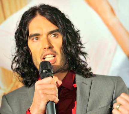 Click photo to download. Caption: Russell Brand. Credit: Eva Rinaldi via Wikimedia Commons.