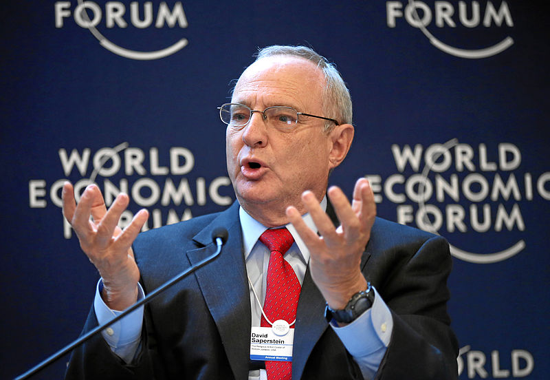 Click photo to download. Caption: Rabbi David Saperstein. Credit: World Economic Forum.