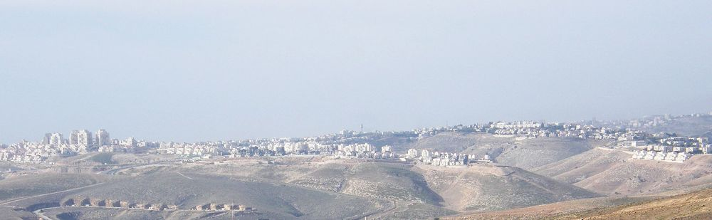 Maaleh Adumim. Credit: Wikimedia Commons.