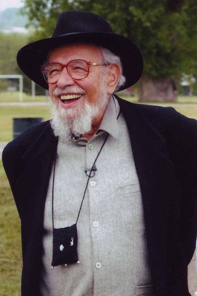 Click photo to download. Caption: Rabbi Zalman Schachter-Shalomi in 2005. Schachter-Shalomi, a founder of the Jewish Renewal movement, died last month. Credit: IZAK via Wikimedia Commons.