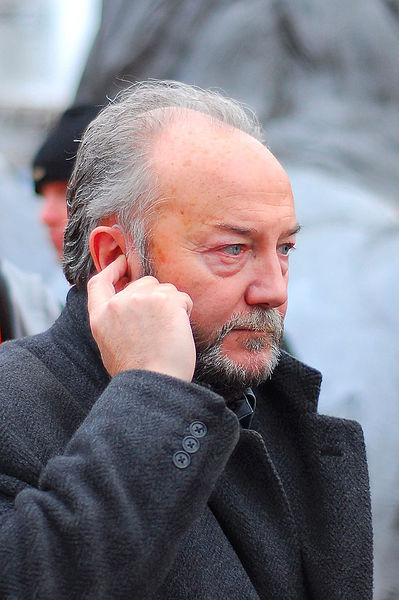 Far-left British MP George Galloway. Credit: Wikimedia Commons.