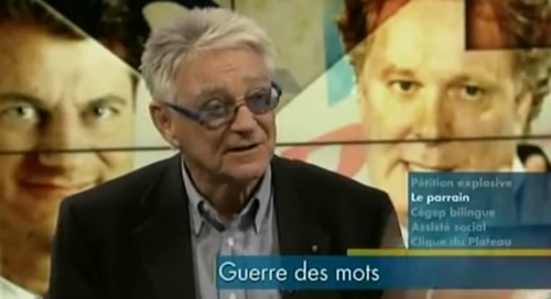 Gilles Proulx. Credit: YouTube screenshot.