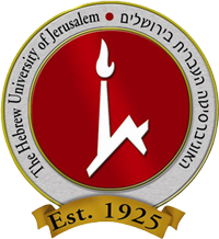 The Hebrew University of Jerusalem logo. Credit: Hebrew University.