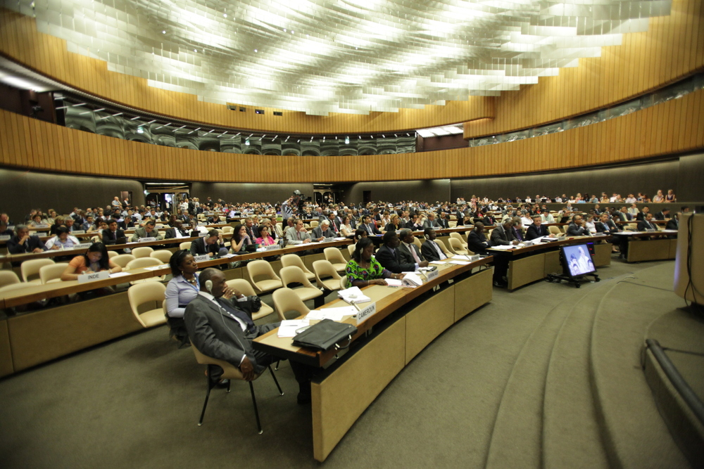 The United Nations Human Rights Council in Geneva, Switzerland. Credit: Wikimedia Commons.