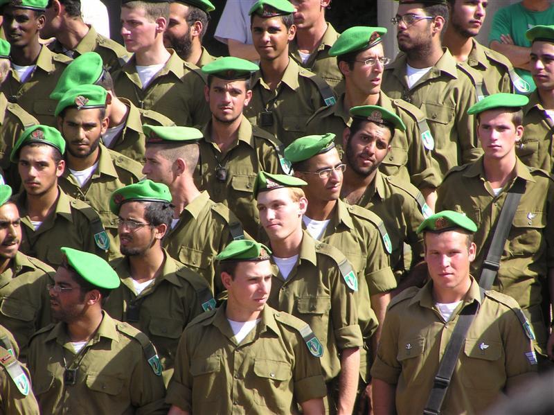 IDF Nahal Brigade soldiers. Credit: Dor Pozner via Wikimedia Commons.
