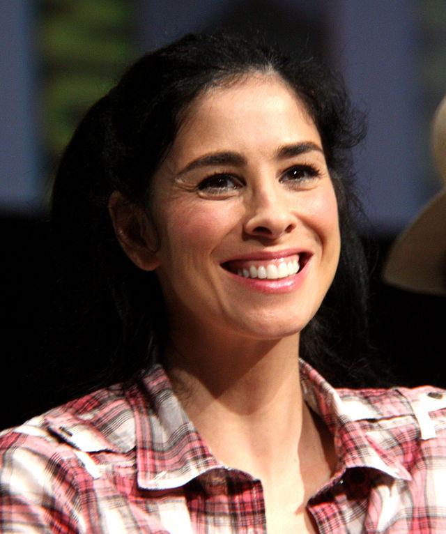 Jewish comedian Sarah Silverman. Credit: Gage Skidmore viaWikimedia Commons
