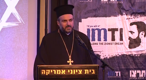 Father Gabriel Nadaf. Credit: YouTube screenshot.