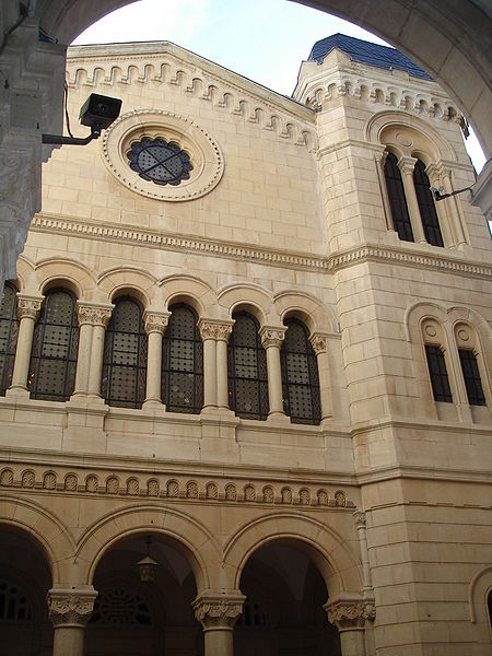 The Great Synagogue of Lyon. Credit: Wikimedia Commons.