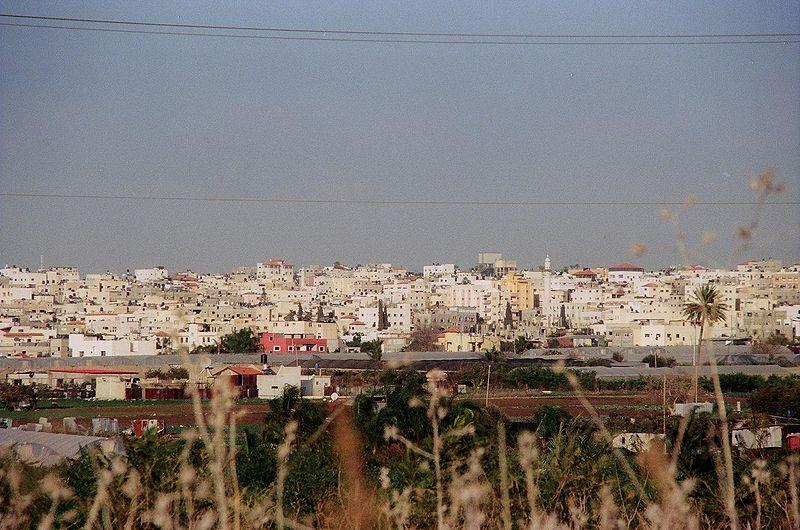 Qalqiliya in the West Bank. Credit: Wikimedia Commons.