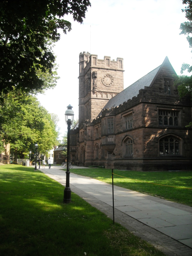Princeton University (campus pictured) has been identified by the AMCHA initiative as one of the universities with faculty members who have signed a petition to boycott Israel. Credit: Wikimedia Commons.