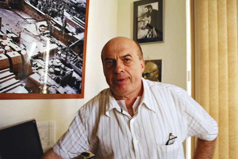 Jewish Agency Chairman Natan Sharansky was born in the Ukrainian city of Donetsk, Credit: Wikimedia Commons.