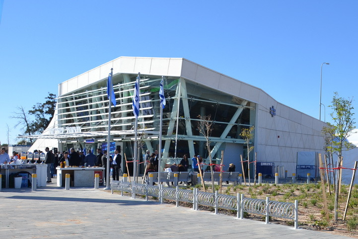The train station in Sderot. Credit: Wikimedia Commons.