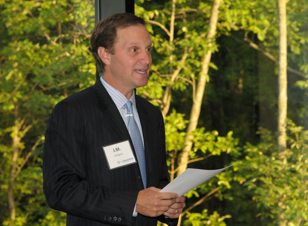"Click photo to download. Caption: J.M. Schapiro (pictured), 2014-15 fundraising campaign chair for The Associated: Jewish Community Federation of Baltimore, said that while the ALS Ice Bucket Challenge was the Ice Bucket Challenge was ""fun and exciting,"" he does not believe it is ""something you can manufacture"" elsewhere in the fundraising world. Credit: Provided photo."