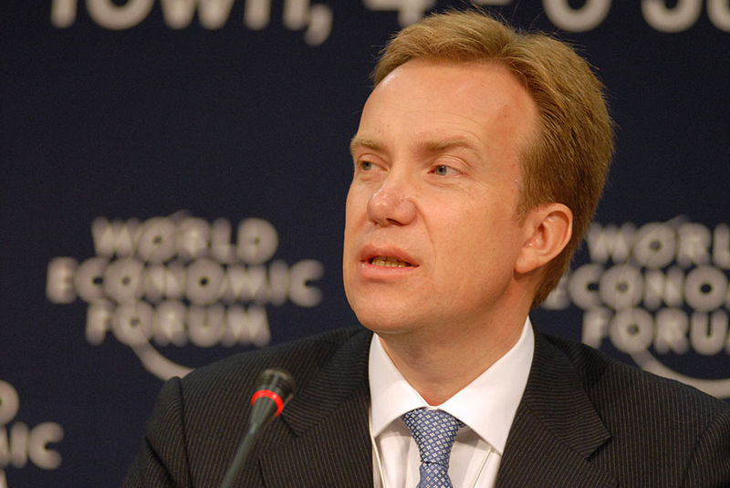 Norwegian Foreign Minister Borge Brende. Credit: World Economic Forum.