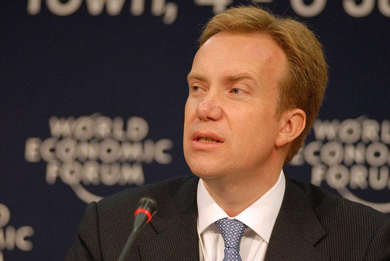 Norwegian Foreign Minister Borge Brende. Credit: World Economic Forum.