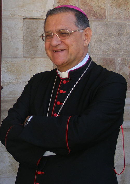 Fouad Twal, the Catholic Church's top official in the Holy Land. Credit: Wikimedia Commons.