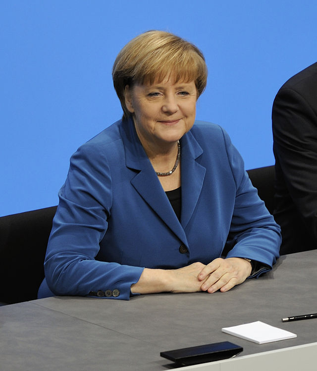 German Chancellor Angela Merkel. Credit: Martin Rulsch via Wikimedia Commons.