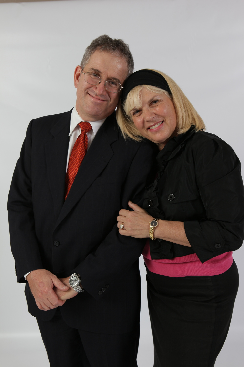Click photo to download. Caption: Since 2007, Jay Robinow (pictured with his wife, Margie) has built and/or expanded more than 150 sukkot for people across the state of Kansas. Credit: Provided photo.