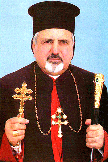 Patriarch Ignace III of the Syrian Catholic Church of Antioch. Credit: Charfet Seminary.