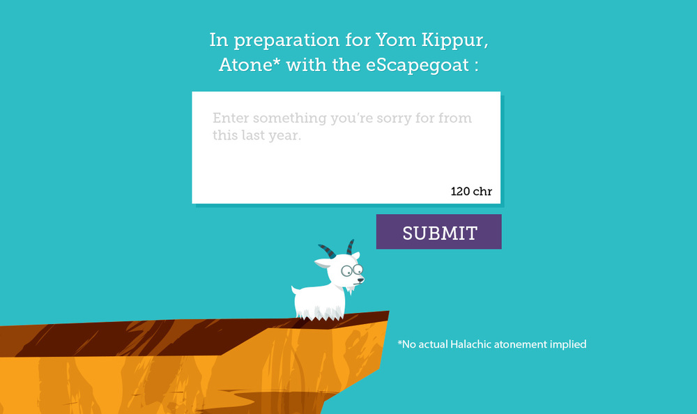 The eScapegoat app. Credit: G-dcast.