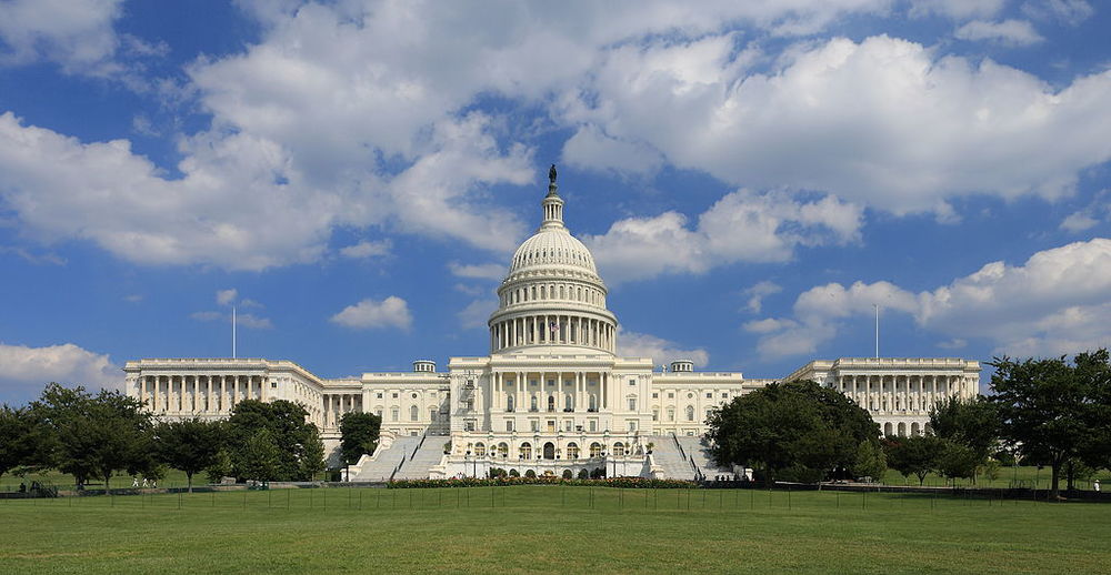 Click photo to download. Caption: The U.S. Capitol building. Credit: Martin Falbisoner via Wikimedia Commons.