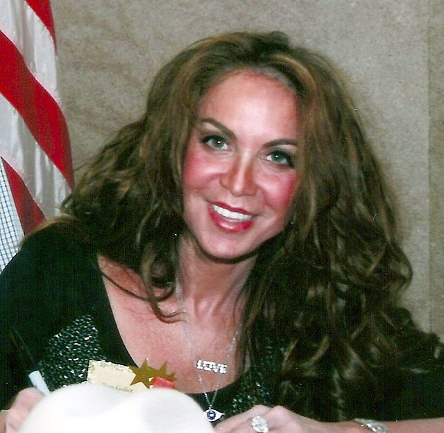 Pictured in Pamela Geller, whose American Freedom Defense Initiative is suing New York City's transit authority for rejecting an anti-Hamas bus advertisement. Credit: Pamela Geller via Wikimedia Commons.