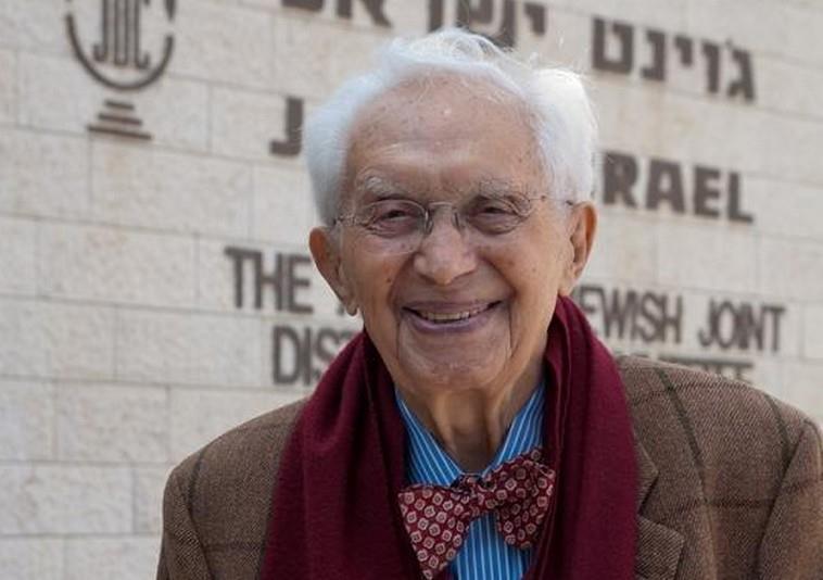Ralph I. Goldman. Credit: JDC Israel.