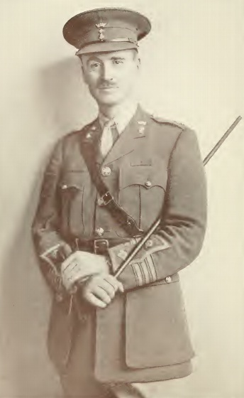 "1922 portrait of Lt-Colonel John Henry Patterson from his book, ""With the Judaeans in the Palestine Campaign."" Credit: Wikimedia Commons."
