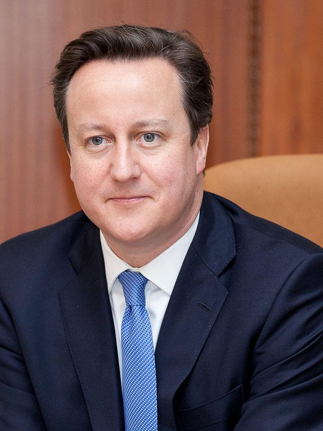 U.K. Prime Minister David Cameron. Credit: Wikimedia Commons.