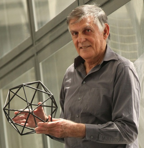 Click photo to download. Caption: Dan Shechtman. Credit: Technion - Israel Institute of Technology.