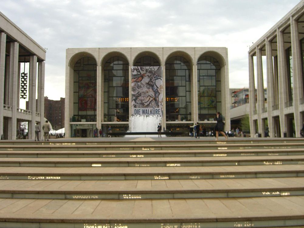 The Metropolitan Opera in New York City.